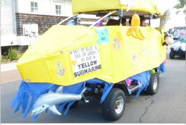 Bald Head Island Cart Parade