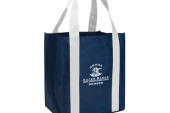 Navy Grocery Tote