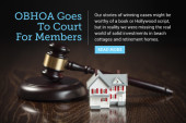 OBHOA goes to court for members